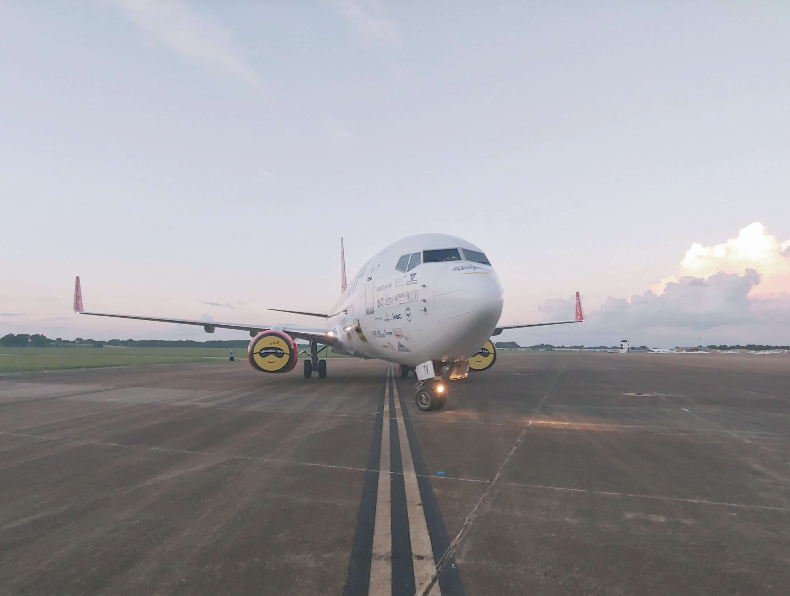WheelTug Flight Tests