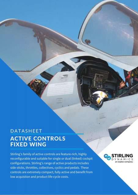 Fixed Wing Active Controls