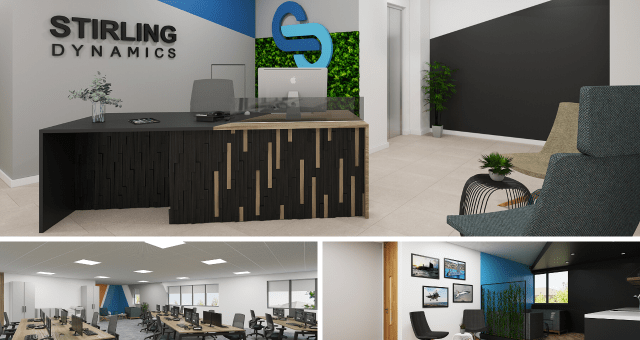 Stirling Dynamics New Office