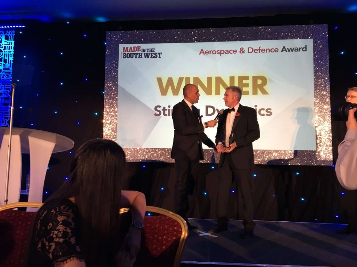Stirling Aerospace Defence 2017 Award