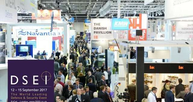 Stirling Exhibits at DSEI 2017